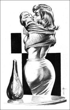 ✯ Frank Frazetta ..The Midwood Illustrations.. 1963-64✯