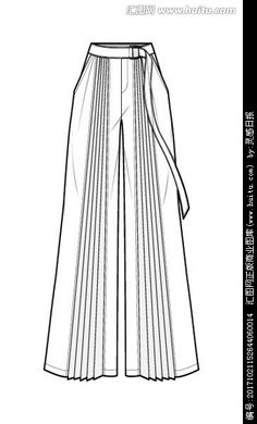 Fashion Design Sketchbook, Fashion Design Portfolio, Fashion Design Drawings, Fashion Sketches, Drawing Fashion, Fashion Flats, Fashion Art, Fashion Outfits, Flat Drawings