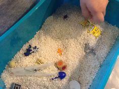 Ris er dejligt og rører ved, igen forskellige ting i som børn kan tale om og stille spørgsmål til.