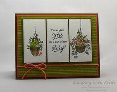 Alternate Monday Stampin' Up! Hanging Garden - Stamping With Kristi