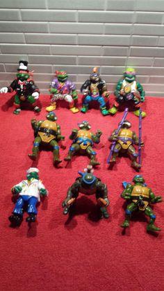tartarughe ninja giocattolo varie serie