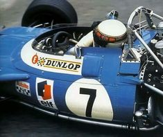1969 Spanish GP, Monjuic : Jackie Stewart, Matra MS10 #7, Matra International, Winner. (ph: Encoders)