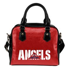 Los Angeles Angels Mass Triangle Shoulder Handbags – Best Funny Store