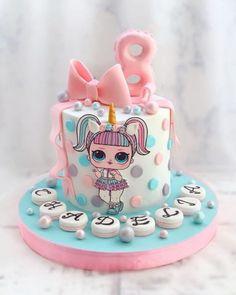 Mini Mouse Birthday Cake, Doll Birthday Cake, Funny Birthday Cakes, Jasmine Cake, Lol Doll Cake, Surprise Cake, Beautiful Birthday Cakes, Girl Cakes, Pretty Cakes