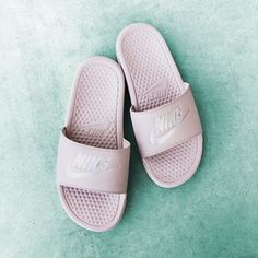 new york 862a5 f9060 Tap to save on Nike Benassi Rose slides and other -