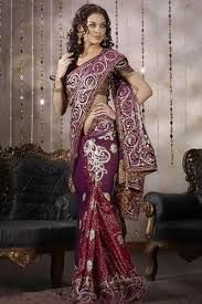 A well designed blouse effectively enhances the look of a saree.The blouse is usually low necked and short sleeved and made to complement the saree