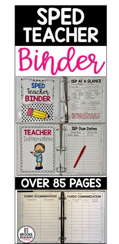 Special Education Forms, School Calendar, Parent Communication, Teacher Binder, Life Savers, Student, Teaching, Learning, Education