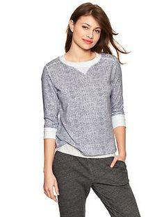 Terry pullover   Gap
