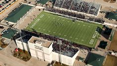 Collins Athletic Complex - Home of the Denton Ryan Raiders and Denton Guyer Wildcats. Texas High School Football, Football Is Life, Denton Texas, Football Stadiums, World Famous, Cathedrals, Dallas Cowboys, Raiders, Management