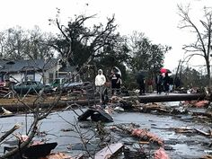4 dead mourned in Mississippi after tornado rips through area PETAL, Miss.Cynthia Holland has to repair her liquor store. William Carey University has to find a place to hold classes. Michelle Kirk has to allay her 11-year-old daughter's anxieties while living in a damaged house.