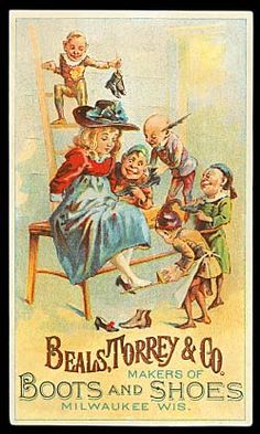 Beals, Torrey & Co. Shoe trade card