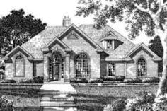 Houseplans.com Front Elevation Plan #141-108