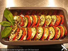 Auflauf von Zucchini, Tomaten und Feta, ein leckeres Rezept aus der Kategorie Gemüse. Bewertungen: 18. Durchschnitt: Ø 4,1.