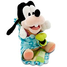 Our soft-stuffed baby Goofy plush was a ''dippy dawg'' from the day he was born. Being silly only made him that much more loveable, so give Baby Goofy a big ol' comical hug. Disney Plush, Disney Toys, Baby Disney, Mickey Mouse Toys, Cute Disney Pictures, Disney Parks Merchandise, Disney Stuffed Animals, Baby Shower Gifts For Boys, Mickey And Friends