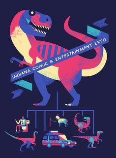 Indiana Comic & Entertainment Expo - Owen Davey Illustration