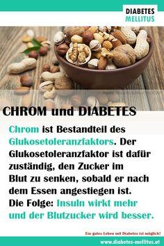 Chrom hilft den Blutzucker zu verschönern! Quellen: viel Chrom bieten Nüsse, insbesondere Paranüsse, Hülsenfrüchte, Vollkorn und Vollkornprodukte, Bierhefe sowie Trockenfrüchte wie z.B. Rosinen und Datteln Tipp! Vitamin C steigert die Aufnahme von Chrom um ein Vielfaches! 💙Ein gutes Leben mit Diabetes ist möglich!💙 Diabetes Mellitus, Beans, Vegetables, Food, Fiber, Good Life, Meal, Beans Recipes, Essen
