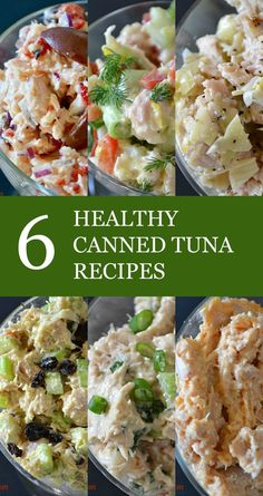 Healthy, Cheap Eating: 6 Easy Canned Tuna Recipes. #Paleo #21DSD #Whole30