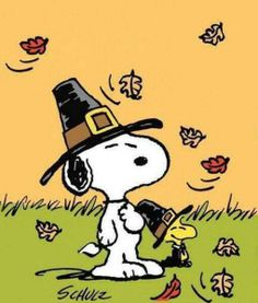 Thanksgiving ~ Love Snoopy ♡