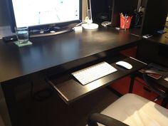 keyboard tray for IKEA expedit desk