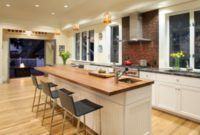 Rectangular Kitchen Island Bar