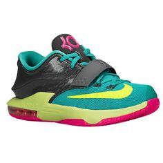 bf3acf8d4cc1 Nike KD 7 - Boys  Grade School - Grey   Pink