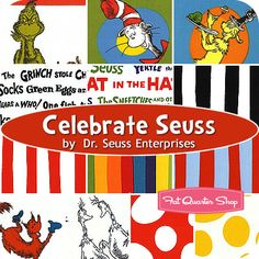 someday, when i learn to quilt, i want to make someone a Dr Seuss quilt. maybe my grandkids? :)