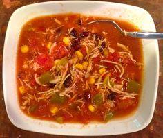 Crockpot chicken soup -Yummmmm