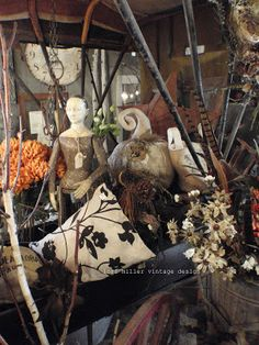 Round Barn Potting Company:  The art of Display - Lori Miller