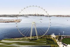 Construction of New York Ferris Wheel begins in Staten Island