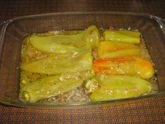 Das perfekte Paprika eingelegt Antipasti aus Rumänien-Rezept mit einfacher Schritt-für-Schritt-Anleitung: Spitzpaprika ca. 15 Minuten im Backofen bei ca…