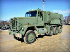 1979 AM General M919 Concrete Mixer Truck! It has a mobile 22 1/2 ton 8x6, with 8 cubic yard mixer! Find more Military Vehicles  on GovLiquidation!