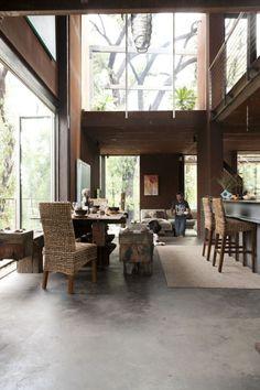 Callignee 2 - Featured on episode 1 season 1 of Grand Designs Australia Grand Designs Uk, Grand Designs Australia, Tiny Loft, Interior Architecture, Interior Design, Australian Homes, Villa, Home Fashion, Building Design