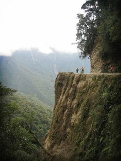 Hwy of Death, Bolivia... Always wanted to brave this epic mtn biking journey