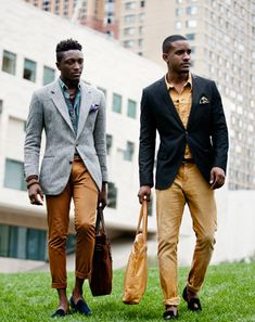 5x7: A GQ Fashion Week Photo Journal in honor of black history month, i will find these men and ask them to marry me :)