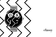 Zig Zag Watch Face is a minimalistic yet very impressive watch face.