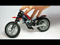 How to Build the Lego Technic Chopper (MOC) - YouTube