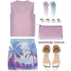 """Wardrobe Staples: Summer Sandals"" by maria-maldonado on Polyvore"