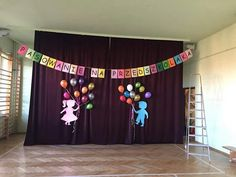 Telón Christmas Stage Design, Activities For Kids, Crafts For Kids, School Decorations, Child Day, Kids Church, Craft Work, Classroom Decor, Kids And Parenting