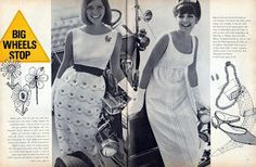 Classic Style Preservation: 1966 Fashion: Part Twelve - Racing Fashion