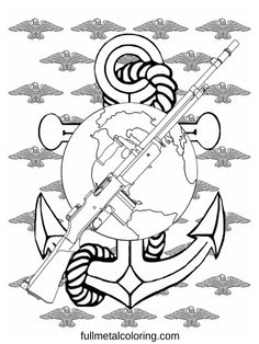 I'm reading Marine Birthday tribute - Gun Coloring Page on Scribd First They Came, Coloring Pages, Guns, Reading, Birthday, Art, Weapons Guns, Art Background, Weapons