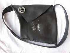 bag made with truck inner tube