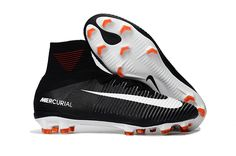 3294bf95724 Nike Mercurial Superfly V FG Soccer Shoes White Red Black on  www.evensoccer.com