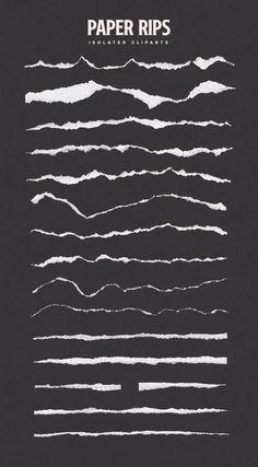 Torn Paper Cliparts & Mockups - FilterGrade