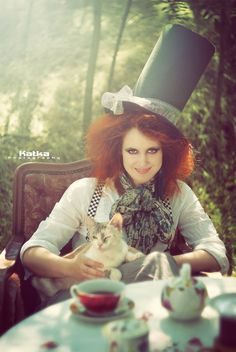 The mad hatter by Katalin Palkó Adventures In Wonderland, Alice In Wonderland, Childhood Stories, Photography Words, Instagram Feed, Fairy Tales, Costumes, Black And White, Photoshoot Ideas