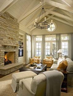 Lakefront Luxury Home-Myefski Architects-02-1 Kindesign