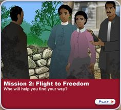 An engaging interactive mission about the Underground Railroad!