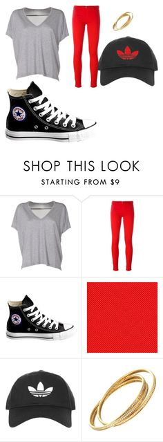 """""""bored asf"""" by rileygayle ❤ liked on Polyvore featuring Acne Studios, Love Moschino, Converse and Topshop"""
