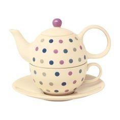 Polka Dot Tea-for-One