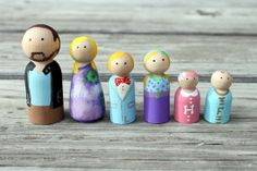Could make these as game pieces for the room? The kids can make dolls of themselves and use to play Monopoly, Candyland, etc, since we lose game pieces like nobody's business.