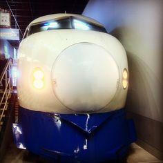 Shinkansen(blue color)